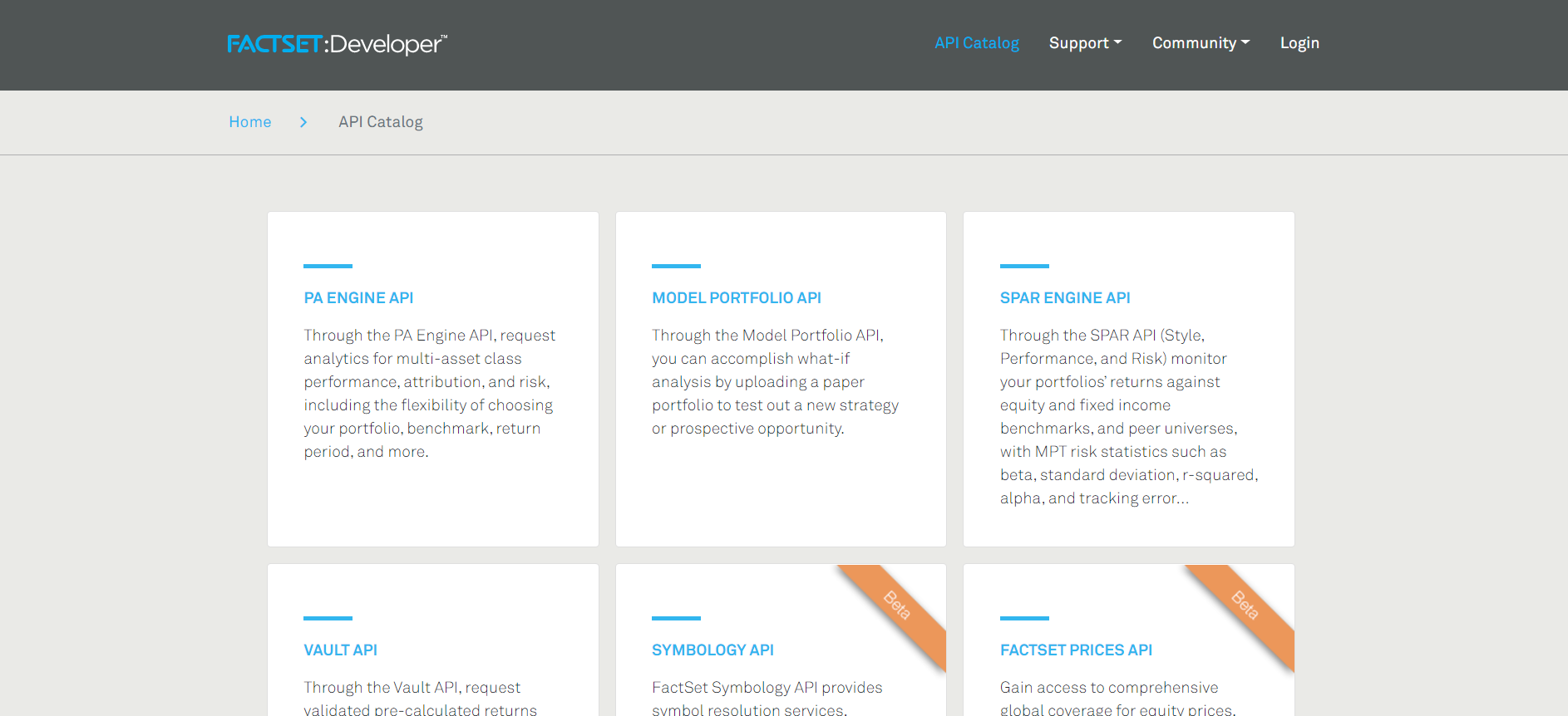 FactSet API and Portal Options