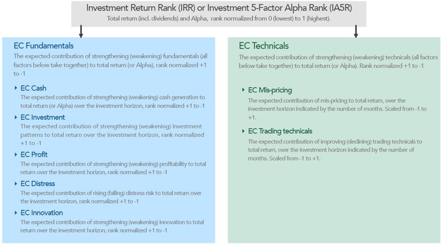 investment return rank